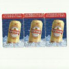 CHERNIGIVSKE BEER UKRAINE TELECOM ADVERTISING TELEPHONE CARDS