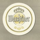 WARSTEINER BEER BREWED IN ARNSBERG FOREST NATURE PARK GERMAN ADVERTISING BEER MAT COASTER