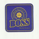 BOSS BROWAR WITNICA BALTIC PORTER POLISH ADVERTISING BEER MAT COASTER