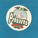 PEDAVENA BEER Birra Pedavena ITALIAN ADVERTISING BEER MAT COASTER