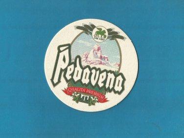 PEDAVENA BEER Birra Pedavena ITALIAN ADVERTISING BEER MAT COASTER