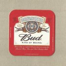 BUDWEISER KING OF BEERS UKRAINIAN ADVERTISING BEER MAT COASTER