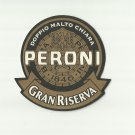 PERONI GRAN RISERVA ITALIAN ADVERTISING BEER MAT COASTER