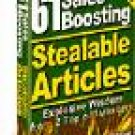 61 Sales Boosting Stealable Articles