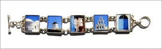 5 Photo Chunky Bracelet