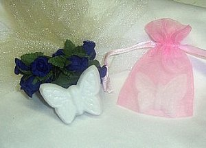 Bridal Wedding Quinceanera Baby Shower Favors Butterfly Soap Favors Free Ship