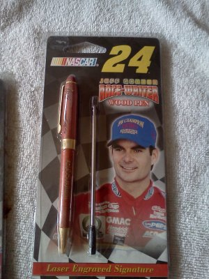 Jeff Gordon Race-Writer Wood Pen