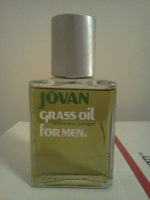 Grass Oil for Men by Jovan After Shave Cologne 4 oz Splash