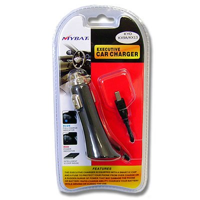 Executive car charger for Kyocera KX9A,KX-13,KX16,KX160