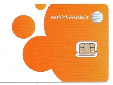 NEW AT&T GSM NANO SIM CARD