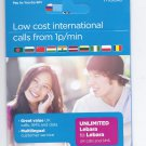 UK LEBARA MOBILE  PREPAID TRI SIM CARD