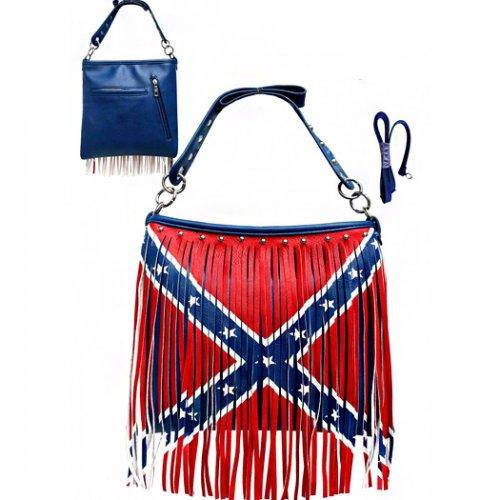 Rebel Flag Messenger Bag