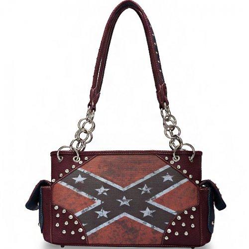 Rebel Flag Shoulder Bag