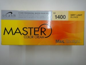 D CASH MASTER Very Light Blonde Hair Color Cream Dye