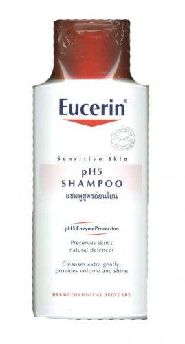 EUCERIN pH5 shampoo sensitive scalp hair skin care 200ml