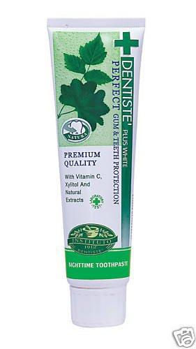 Dentiste plus white vitamin c & xyitol toothpaste