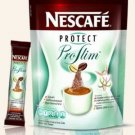 Nescafe Protect Proslim Diet Slimming Coffee 10sachets