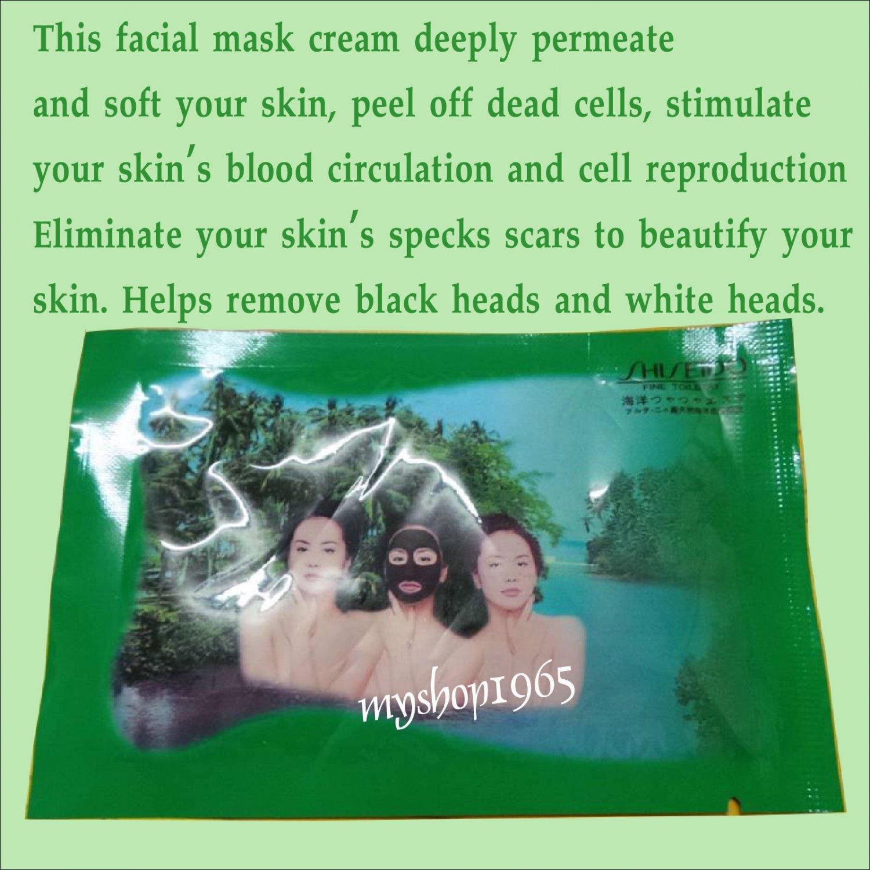 X3 sachet Facial Mask Clay Cream
