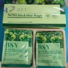 1 Box BSY Noni Black Hair Magic Shampoo
