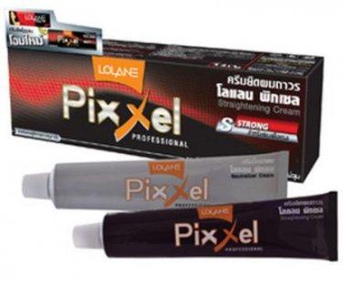 Lolane Pixxel Hair Straightener Cream for STRONG HAIR 110g