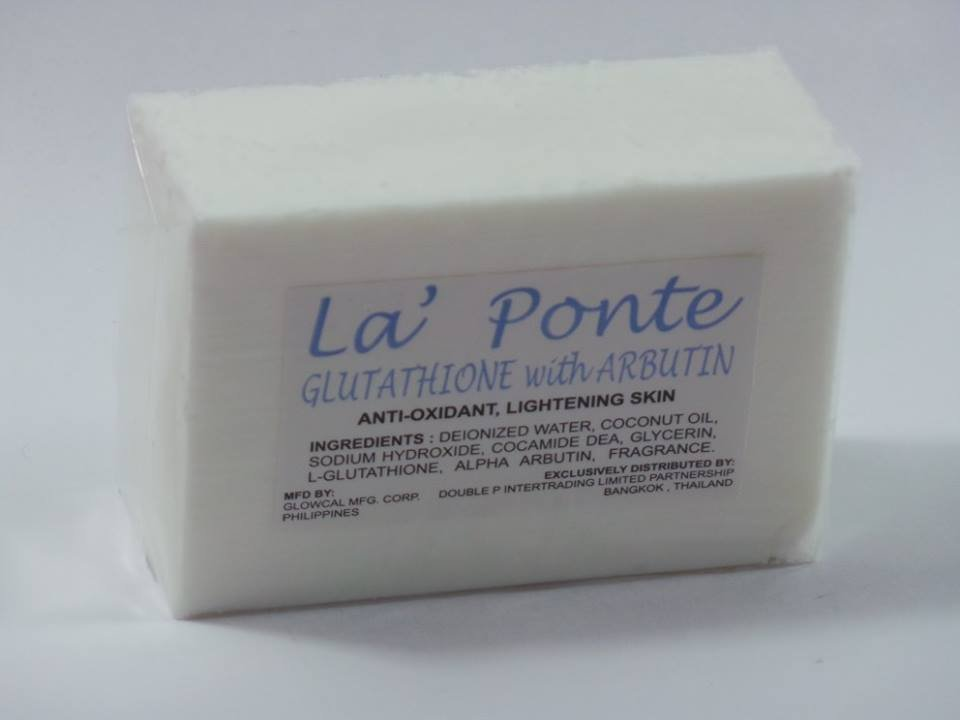 3Bars La Ponte Glutathione with Arbutin  Soap 200G each