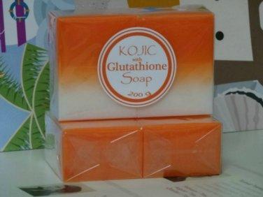 x25 2 in 1 Kojic Acid Soap with Glutathione 200G