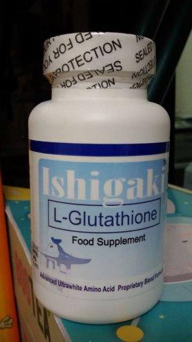 ISHIGAKI ADVANCED ULTRAWHITE L-GLUTATHIONE CAPSULES SKIN WHITENING PILLS -