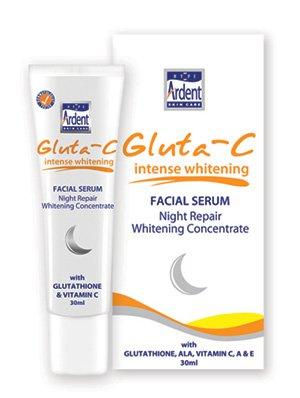 Gluta C Intense Whitening facial Serum Night Repair