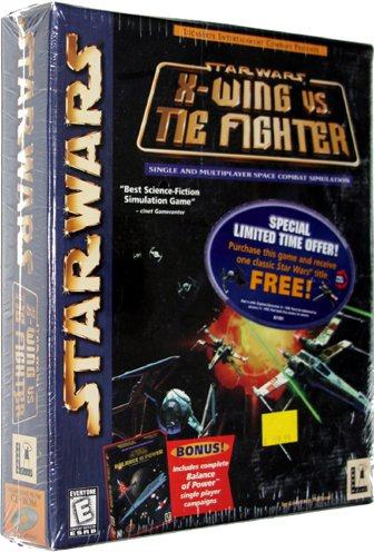 Star Wars: X-Wing vs. TIE Fighter [with Balance of Power Campaigns] [PC Game]