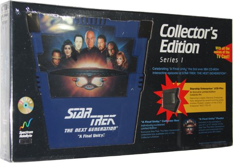 Star Trek: The Next Generation - A Final Unity Collector's Edition [PC Game]