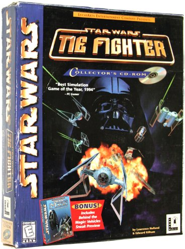 Star Wars: TIE Fighter Collector's CD-ROM [1998] [PC Game]