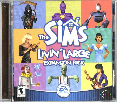 The Sims: Livin' Large Expansion Pack [PC Game]