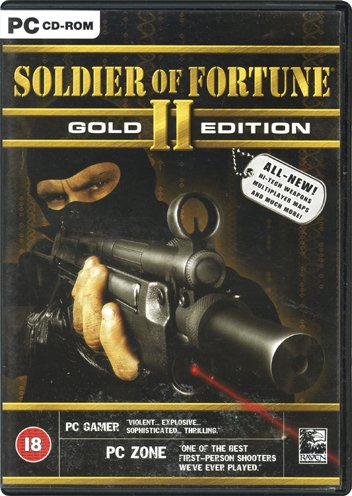 Soldier of Fortune II: Gold Edition [PC Game]