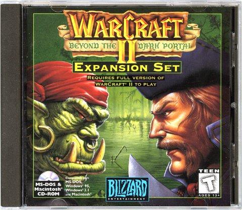 WarCraft II: Beyond the Dark Portal [Hybrid PC/Mac Game]