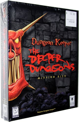 Dungeon Keeper: The Deeper Dungeons Mission Disk [PC Game]