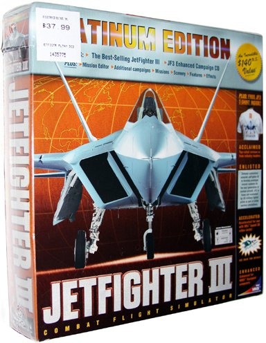 JetFighter III Platinum [PC Game]