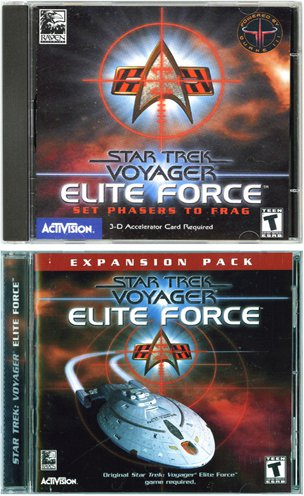 Star Trek: Voyager Elite Force - Special Double Pack [PC game]
