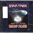 Star Trek: Starship Creator Add-On Pack [Hybrid PC/Mac Game]