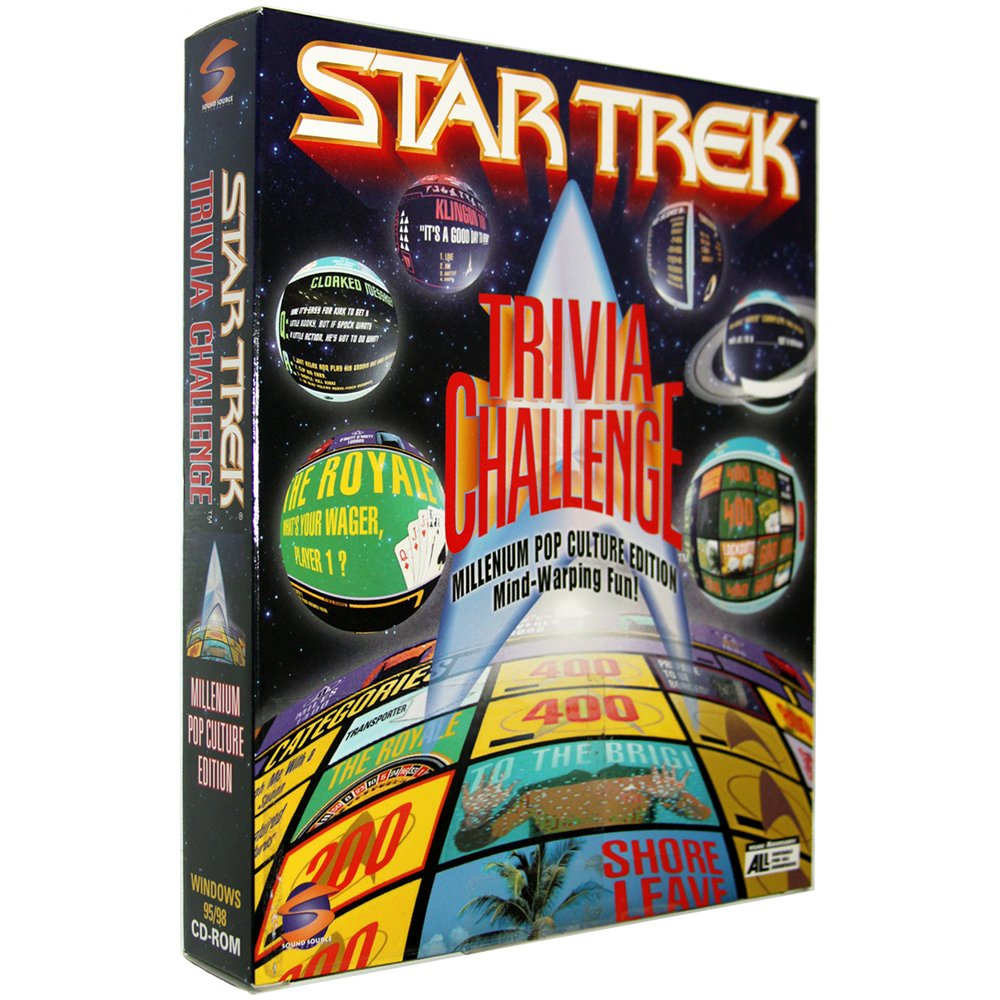 Star Trek: Trivia Challenge [PC Game]