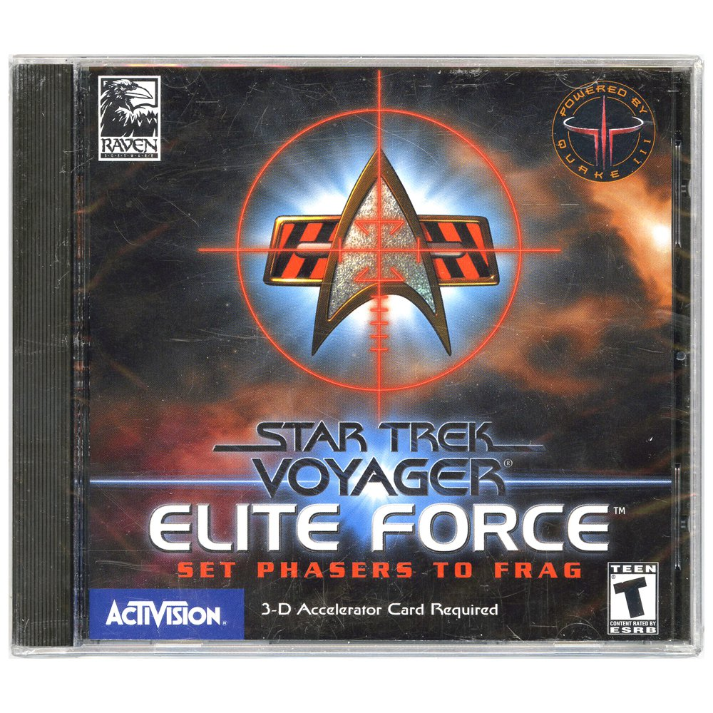 Star Trek Voyager: Elite Force [Jewel Case] [PC Game]