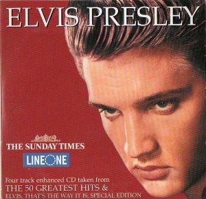 Elvis Presley The Sunday Times sampler(Heartbreak Hotel;Return To Sender;Love Letter;Suspicious Mind