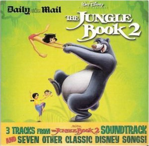Walt Disney s The Jungle Book 2-Ten Superb Songs(inc Peter Pan;Pinocchio;Winnie Pooh bear;Snow White