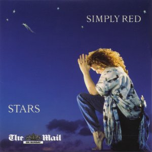 Simply Red - Stars (promo CD album the Mail on Sunday inc Something Got Me Started;For Your Babies
