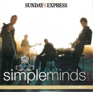 Simple Minds - Live Volume 2 (promo CD album)