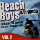 The Beach Boys & Friends Volume Two(Vol 2) 10 Great Summer Love Songs*(Sunday Mirror Good Vibrations