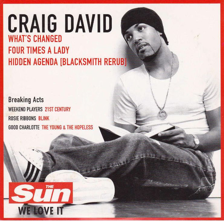 Craig David ~ Four Times A lady (Live Version) - YouTube