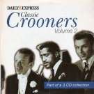 Various - Classic Crooners Volume 2 (Vol Two promo inc. Nat King Cole, Tony Bennett, Bing Crosby)
