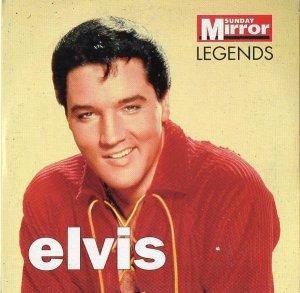 Elvis [Presley] - Legends  (promo Sunday Mirror CD inc Heartbreak Hotel, Hound Dog & Love Me Tender)