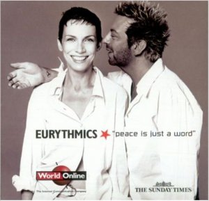 Eurythmics - Peace Is Just A Word (The Sunday Times promo sampler inc. Beautiful Child & 17 Again)