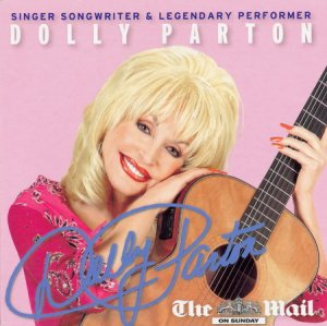 Dolly Parton and The Mighty Fine Band: Singer Songwriter & Legendary Performer(Mail on Sunday promo